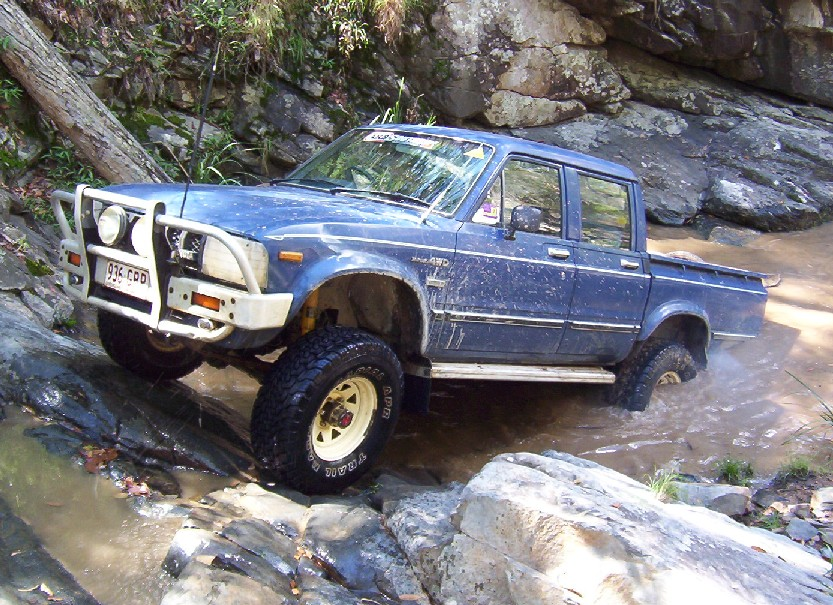 1983 Hilux from Australia, owned by Scott Henry. This is a factory ...