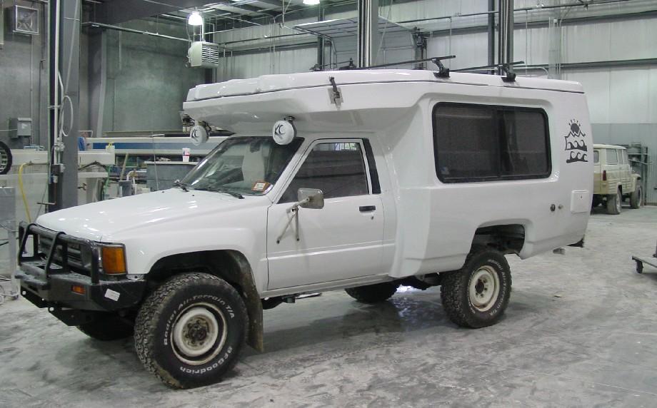 Custom Toyota 4x4 camper for sale - 4x4Wire TrailTalk