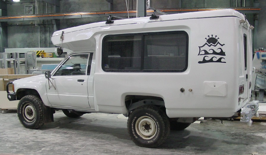 Custom Toyota 4x4 Camper For Sale Early Toyota Trucks